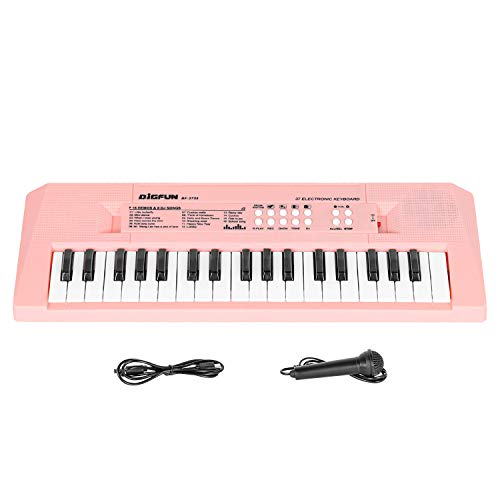 Sanmersen Kids Piano Keyboard 37 Keys Electronic Music Keyboard with...