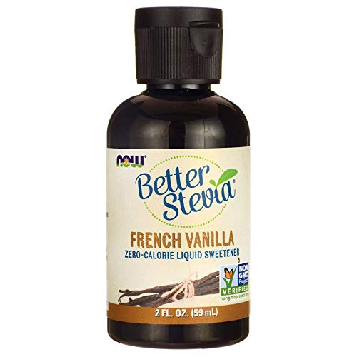 Now Foods Better Stevia Liquid, French Vanilla, 140 g