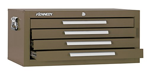 Kennedy Manufacturing 2604B 4-Drawer Mechanics' Base Cabinet, 26', Brown Wrinkle