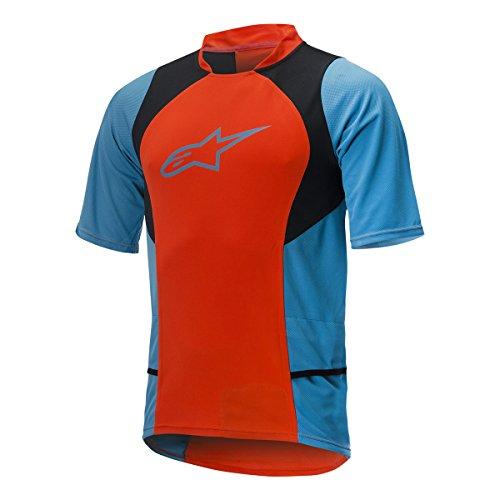 Alpinestar Cycling Camiseta Manga Corta Arancione/BLU S