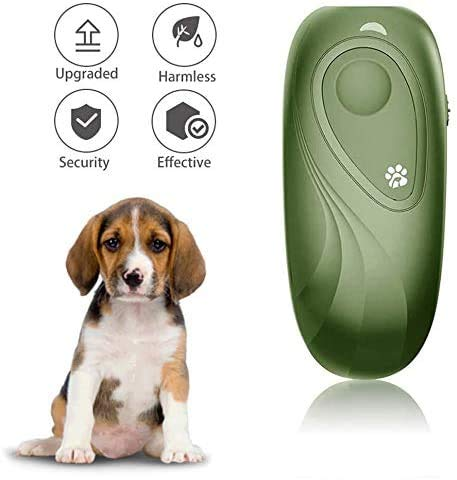 0BEST Anti-Bellen-Handgerät, Ultraschall-Bell-Controller, verstellbar, tragbar, für Training im Freien, für Hunde