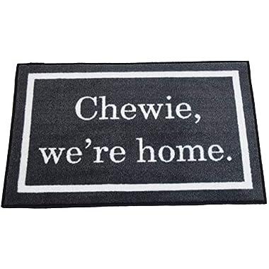 Star Wars Quote Chewie We're Home Welcome Door Mat