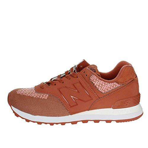 New Balance WL574FAD Zapatillas De Deporte Bajas Mujer Ladrillo Rojo 36½