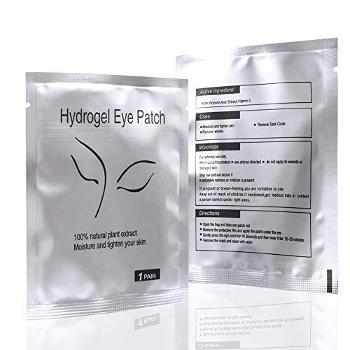 Parches Ojos Extension de Pestañas 50pcs Parches para Pestañas Eye Gel Pad