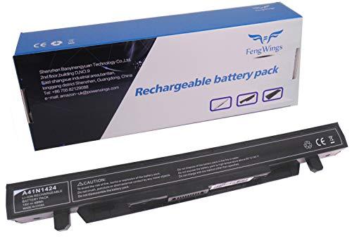 FengWings A41N1424 15V 48Wh Batería para ASUS GL GL552 GL552J GL552JX GL552V GL552VW ROG GL552 GL552J GL552JX GL552V GL552VW ZX ZX50 ZX50J ZX50JX Batería