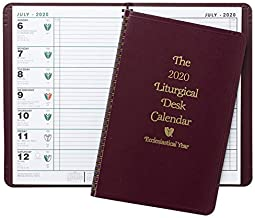 2020 Liturgical Desk Calendar by Franklin X. McCormick