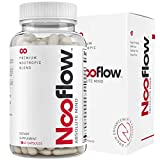 Nooflow Nootropic Brain Booster Supplement | The Premium Focus, Memory, Mood, Energy & Brain Health Formula | Smart Boost of 14 Ingredients for Natural Clarity Support | USA-Made Pills | 60 Capsules