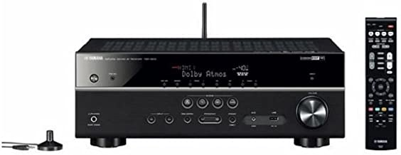 Yamaha TSR-5810 7.2-channel Network AV Receiver with Bluetooth and Wi-Fi Streaming Capabilities - Black (Renewed)