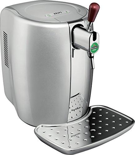 Krups BeerTender - Máquina de cerveza termoplástica talla única plata/cromado