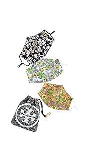 Tory Burch Women's Travel Face Covering Set