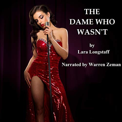 The Dame Who Wasn't audiobook cover art