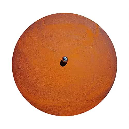 Köhko Design Deckel & Abdeckung mit Kugelgriff mit Rostpatina Farbe für alle Feuerschale Ø 80.5 cm