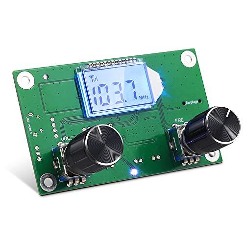 FM-Radio-Platin Drahtlos 87.5-108Mhz 3V 3,7V 4,5V 5V Stereo Mono Modul LCD-Anzeige FM Empfängerplatine für Radio Klein DIY Erwachsene