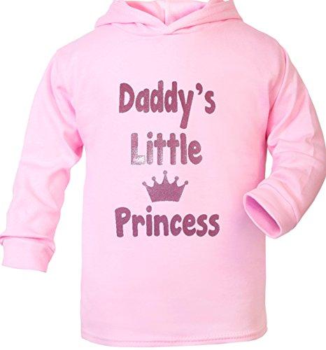 Daddy's Little Princess Supersoft bébé Sweat à capuche - Rose - 6 mois