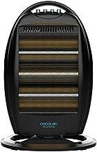Cecotec Radiador Eléctrico Bajo Consumo Ready Warm 7100 Quartz Rotate. 1200W, Oscilación, Termostato regulable, 3 Niveles,...