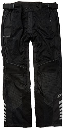 Joe Rocket 1518-3015 Phoenix Ion Men's Mesh Motorcycle Pants (Black, X-Large Short)