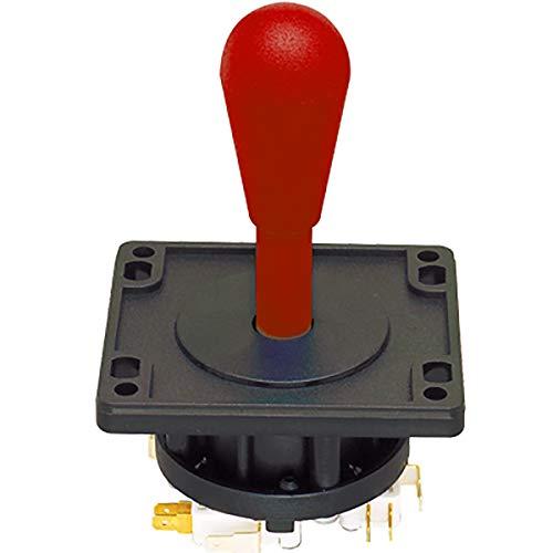 Suzo Happ Red 8-Way Ultimate Joystick - 50-7608-100