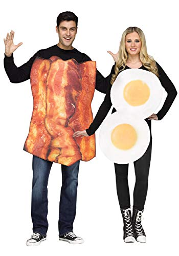 Fun World Bacon & Eggs Adult Costume Standard