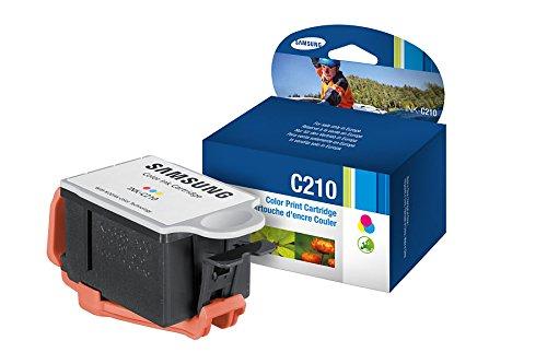 Samsung C210–Tintenpatronen (cyan, magenta, gelb, Standard, Samsung cjx-1050W, ISO/IEC 24712, Tintenstrahldrucker, Leuchtmittel)