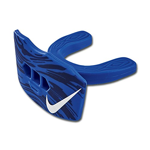 Nike Game-Ready Lip Protector Mundschutz mit Lippenschutz und Strap, Senior, royal