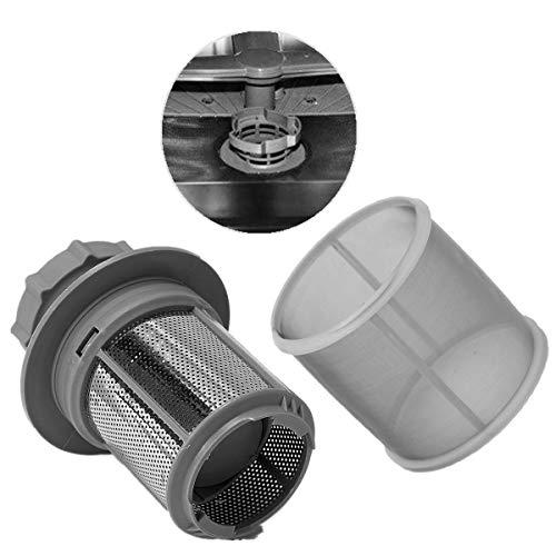 ELECTROHOGAR® Filtro Lavavajillas Balay – Filtro Metálico + Malla de Tamiz Fino para Lavavajillas de las Marcas Balay, Bosch, Siemens, Neff…
