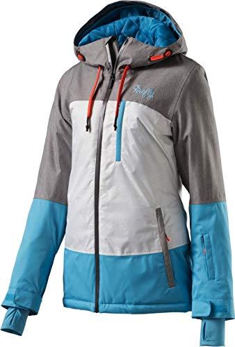 Firefly Damen Snowboard- / Skijacke Babett grau weiß blau, Größe:36