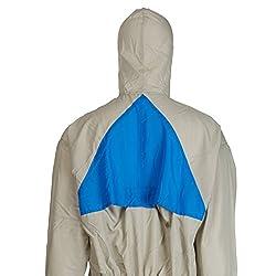 3M reusable protective suit 50425XL, gray + blue, Gr. XL, CE category I