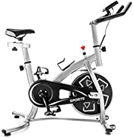 Exercise bike stationary bikes Trainer workout equipment with Comfortable Seat Cushion ,GT Stationary Professional...