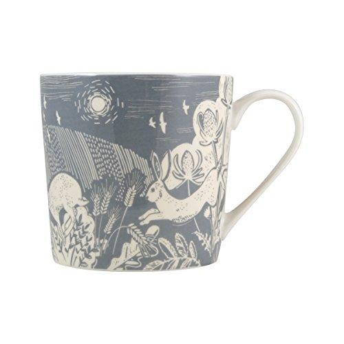 English Tableware Co. Artisan Fine China Blue Hare Mug