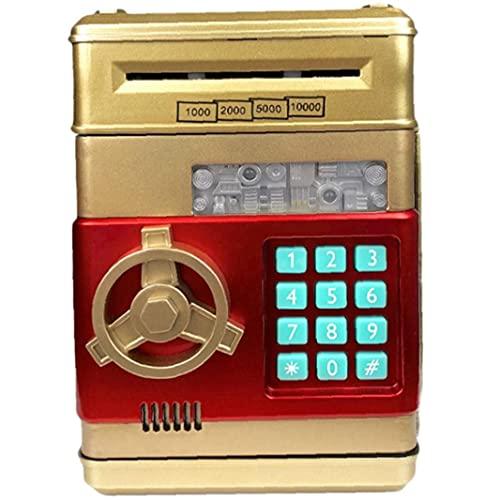 PiniceCore 1pc Electrónico Hucha Contraseña Dinero En Efectivo Monedas Caja Caja De Ahorros Caja Fuerte Niños