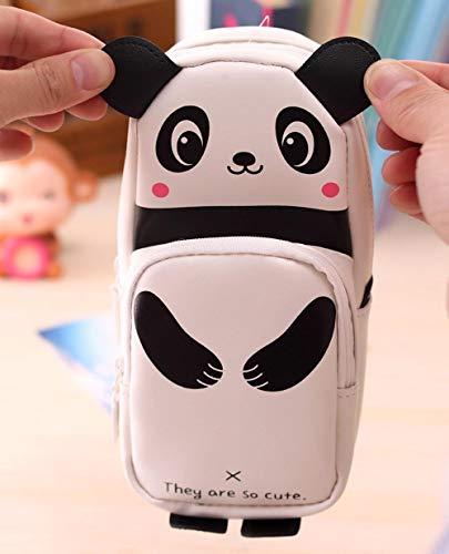 Federmäppchen mit Tiermotiv, niedliches Kawaii-3D-Panda-Federmäppchen, Schulbedarf, Neuheit Artikel für Kinder, Geschenk für Kinder, Panda#p30-China, A