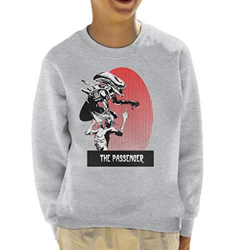 The Passenger Red Alien Iggy Pop Kid's Sweatshirt