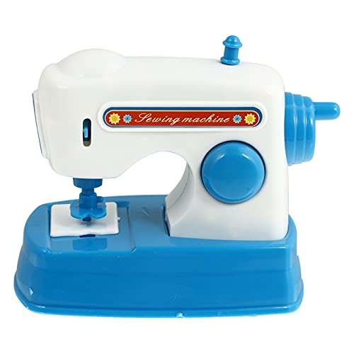 VOSAREA Sewing Machine Toy for Kid Portable Sewing Machine Toy for Toddlers Real Action Educational Manual Children Sewing Machine Toy