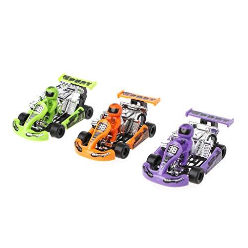 SimpleLife Rennwagen für Jungen, Leichtmetallautomodell, Gokart-Rennspiel, Sportfahrzeug, Kunststoffmotor, Spielzeug zum Zurückziehen