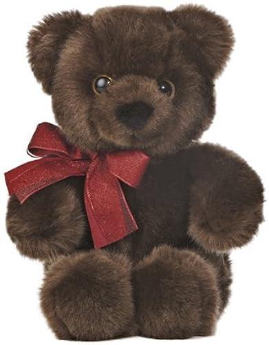 Aurora World Chocolate Cuddle Bear Plush Toy, 10.5 by Aurora World