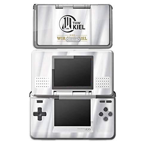 DeinDesign Skin kompatibel mit Nintendo DS Aufkleber Sticker Folie THW Kiel Sterne Handball