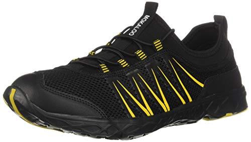 Mokaloo Water Shoes, Quick Drying Aqua Water Shoes for Men and Women, Beach Shoes Barefoot Swim Mesh Slip Hiking Sneakers for Sports Outdoor