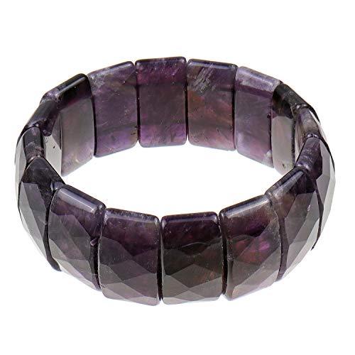 Power Beads Pulsera Flex de pulsera Stretch pulsera amatista 20c