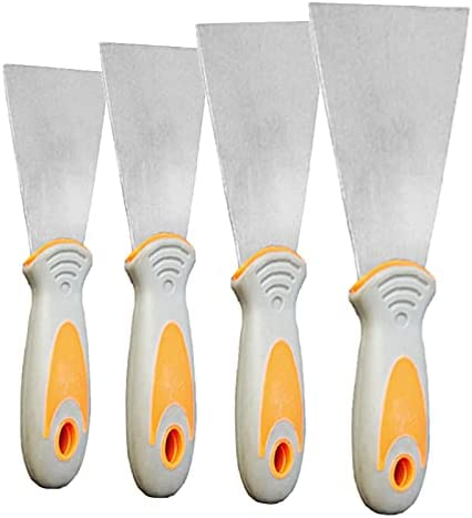 WEDO 4Pcs Putty Knife set To Omaha Mall wholesale Paint Batching Spackle Tool