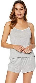 Iris & Lilly Marca Amazon Conjunto de Pijama Modal para Mujer