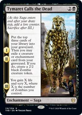 Magic: the Gathering - Tymaret Calls The Dead - Tymaret Evoca i Morti - Theros Beyond Death