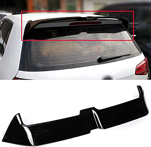 Car ABS Heckspoiler, für Golf 7 MK7 GTI GTD 7R 2014-2019,Heckflügel Apoiler Rear Spoilers Boot, Auto Bumper Trunk Roof Trim Styling Kits Zubehör