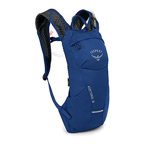 Osprey Katari 3 Trinkrucksack für Männer, mit Hydraulics™ LT 2,5-Liter-Trinkblase - Cobalt Blue (O/S)