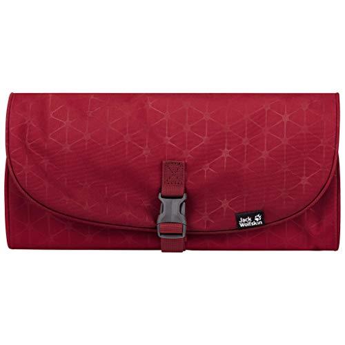 Jack Wolfskin Waschsalon Tasche Unisex, Corona red Grid, ONE Size
