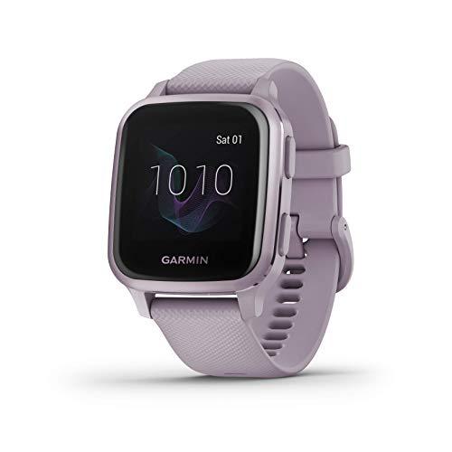 Garmin Venu Sq, Smartwatch GPS Sport con monitoraggio della salute e Garmin Pay, lavanda/viola