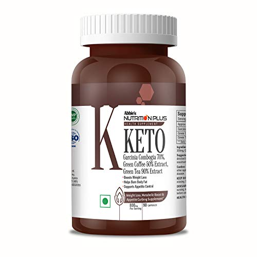 Nutrition Plus Health Supplements Keto 800mg, 90 Capsules, Boost Weight Loss, Helps Burn Body Fat, Supports Appetite Control