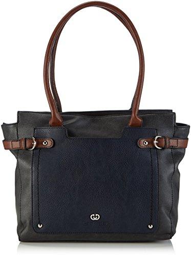 Gerry Weber Catch Shopper 4080003389 Damen Shopper 43x29x15 cm (B x H x T), Blau (Dark Blue 402)