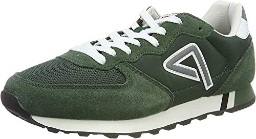 Pepe Jeans London Klein Archive Washed, Zapatillas para Hombre, Green 665, 44 EU