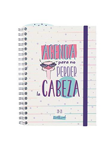Finocam - Agenda Curso 2020-2021 Octavo-120x164 Semana Vista Apaisada Cabeza Blanco Español
