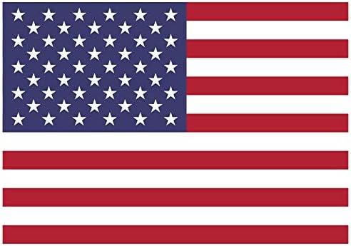 Samunshi Usa Flagge Aufkleber Autoaufkleber In Den Nationalfarben In 10 Größen 30x21cm Color Title Küche Haushalt